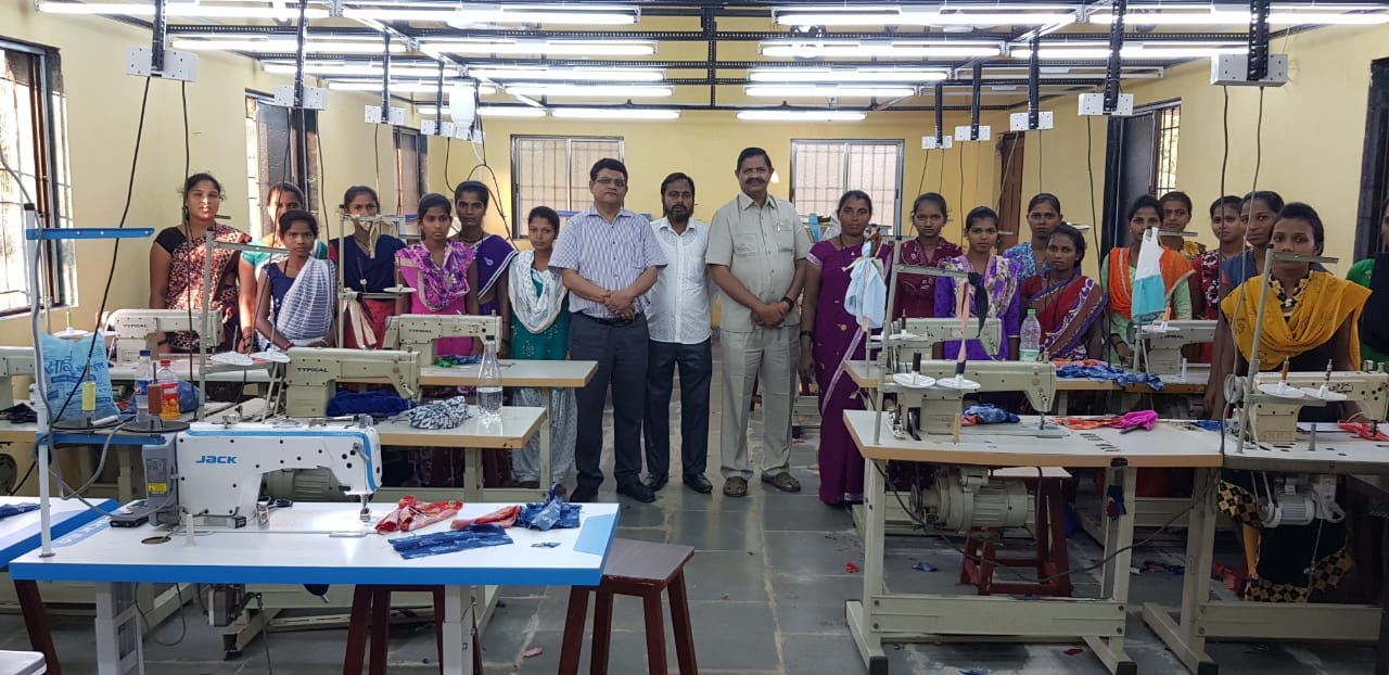Sewing & weaving training in Palghar district