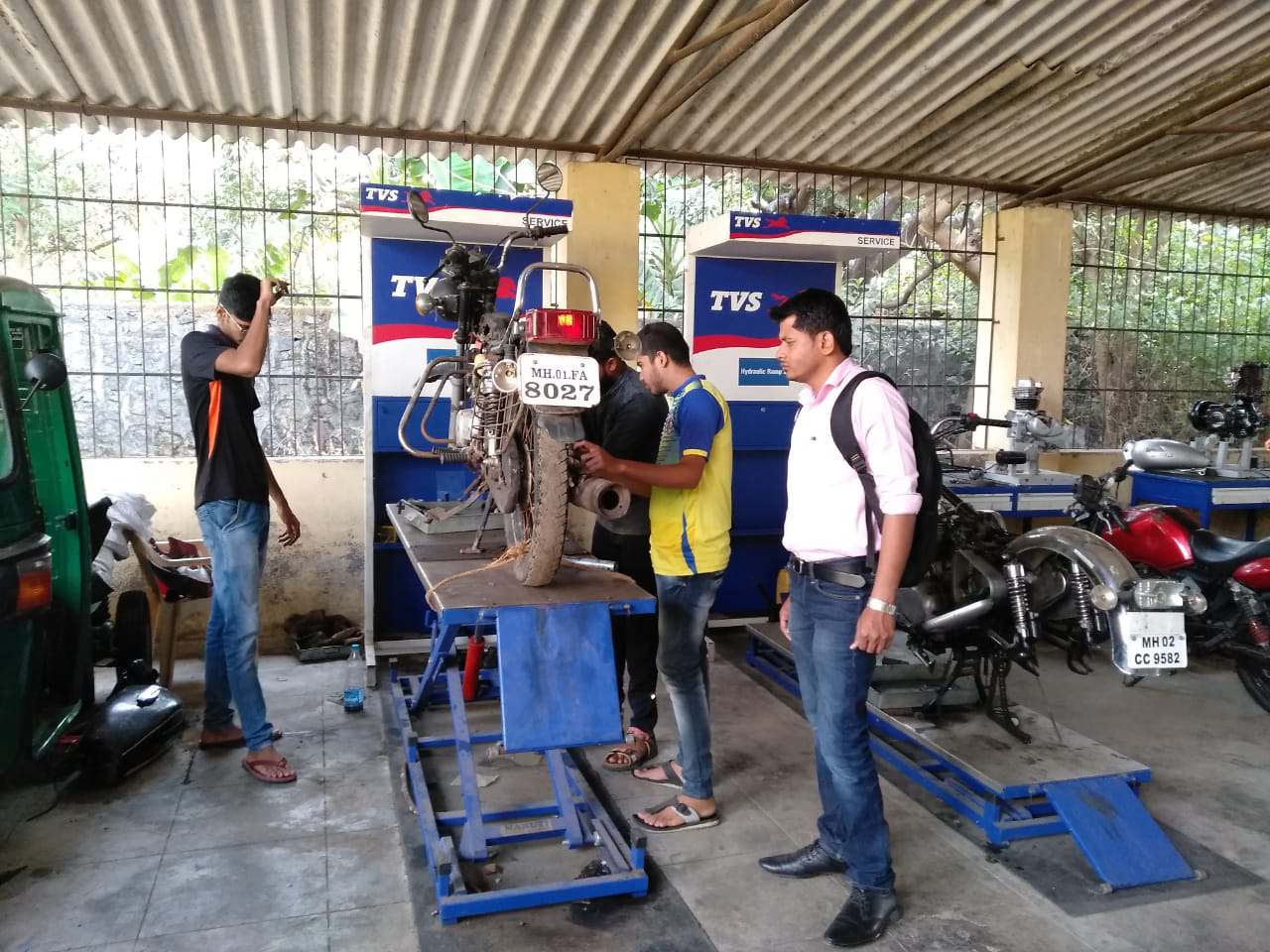 Mechanic Training in Palghar District