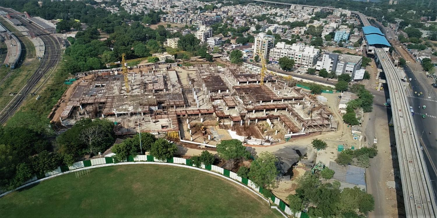 Construction update, Sabarmati-hub