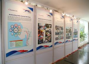 Exhibition on the occasion of NHSRCL's fourth foundation day on 12.02.2020