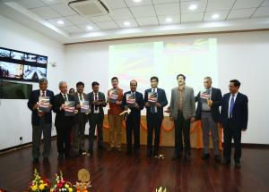 Unveiling of NHSRCL's newsletter and brochure at NHSRCL's Fourth Foundation Day on 12.02.2020