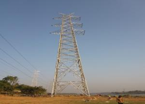 Relocation work of 66 kV extra high tension line in Surat area on 14 july 2020